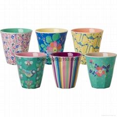 Round melamine cup