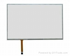 12.1inch 4 wire resistive touch panel