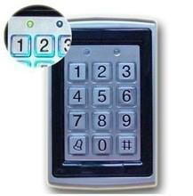 金屬刷卡密碼門禁機