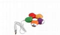 廠家供應 中性USB-hub紫荊花 旋轉梅花1.1 2.0集線器 低價 2