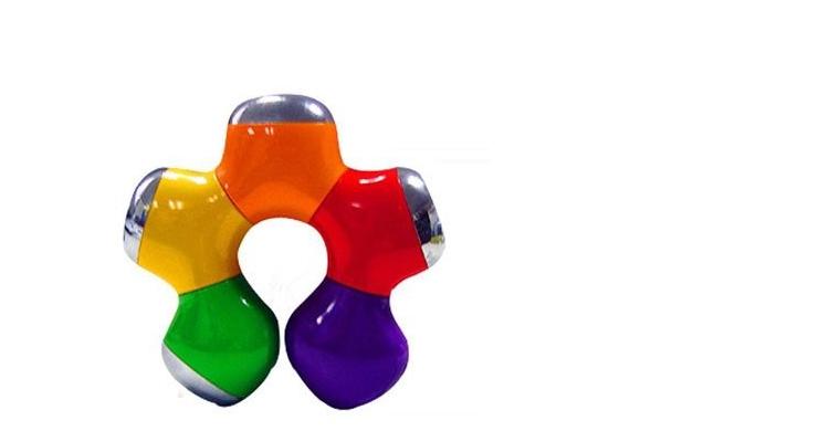 廠家供應 中性USB-hub紫荊花 旋轉梅花1.1 2.0集線器 低價 5
