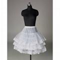 2014 New Stock Lake Blue Royal BlueRed Flower Girl Dresses  4