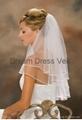2014 New stock White Tulle Bridal Veil