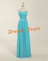 2014 New Stock  Chiffon Bridesmaid Dress Bridesmaid Gown  5