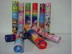 Customized candy packaging tubes