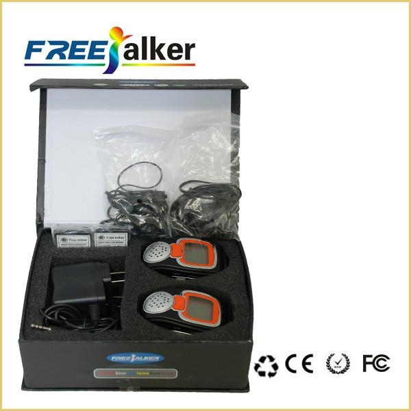 Well-designed 462MHz-467MHz Freetalker Watch Walkie Talkie(Up to 6km of Range) 4