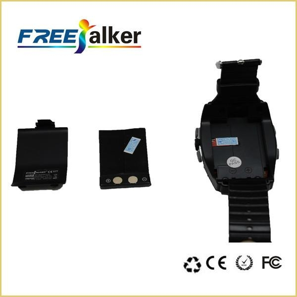 Well-designed 462MHz-467MHz Freetalker Watch Walkie Talkie(Up to 6km of Range) 3