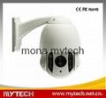 Sony CCD 700TVL Mini High speed dome camera IR PTZ dome kamera 3