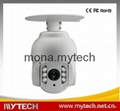 Auto Tracking Full HD IP High speed dome cameras 10X optical zoom 3