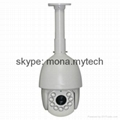HD TVI 1080P High speed dome PTZ camera with 18X zoom module 2