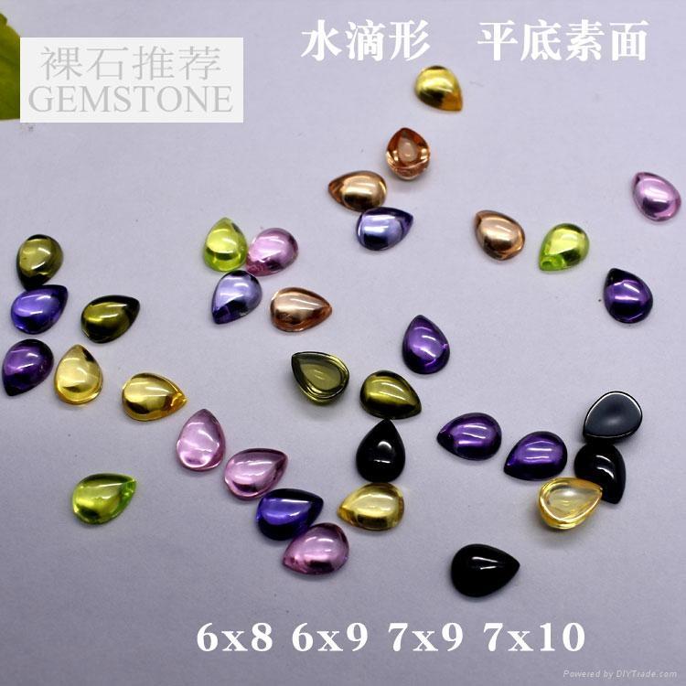 彩色圆形锆石裸石0.7-3mm 3