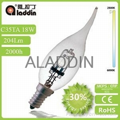 aladdin factory supply c35 halogen bulb with good quality