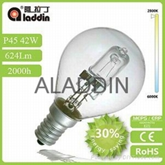 china factory supply P45 energy saving halogen bulb