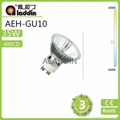 china factory supply reflector  energy saving GU10  halogen bulb