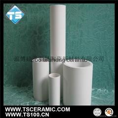 Alumina Ceramic Cylinder, 92% 95% ceramic tube
