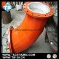 氧化鋁陶瓷彎管 2