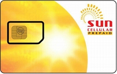 plastic SIM card for mobile phone