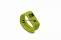 waterproof wireless bluetooth wristband with mobile APP  1