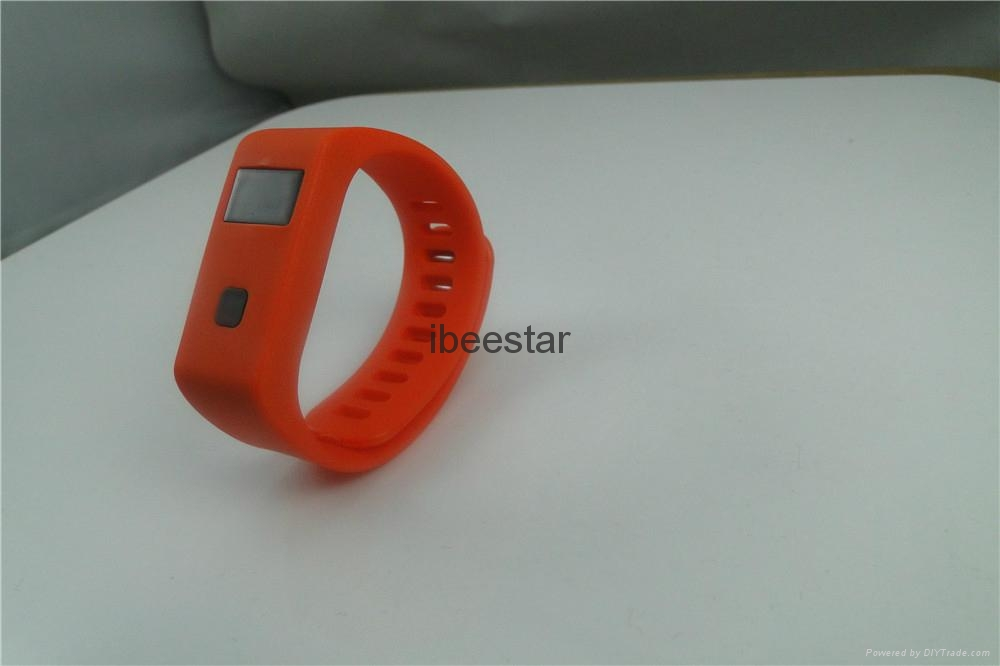 waterproof wireless bluetooth wristband with mobile APP  4