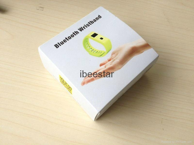 waterproof wireless bluetooth wristband with mobile APP  15