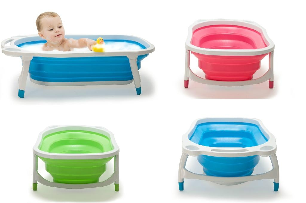 Baby folded bathtub - KBB20 - Kidsmile (China Manufacturer) - Babies ...