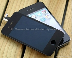 For iphone4/4S lcd assemble with touch screen and digitizer Replacement