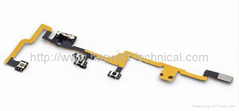 Power On/Off Volume Control Flex Cable Ribbon for Ipad 2