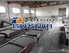新型發泡水泥保溫板四面切割生產線設備