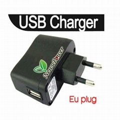NEW 5V 500MA EU Europe Plug USB Charger AC Power Supply Wall Adapter Adaptor MP3