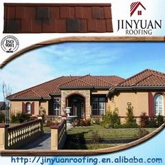 Jinyuan stone coated metal roof tile