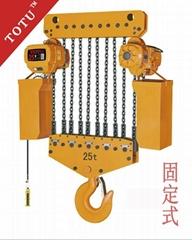 25T雙速TOTU固定式環鏈電動葫蘆
