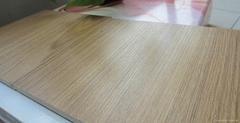 Middle embossment laminate flooring