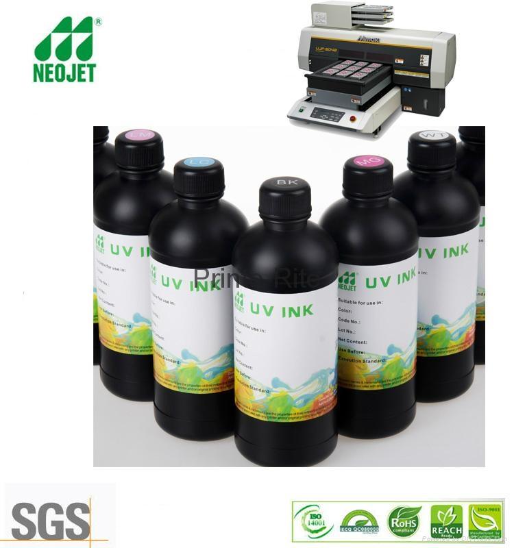 万能uv固化墨水适用硬性软性材质 2