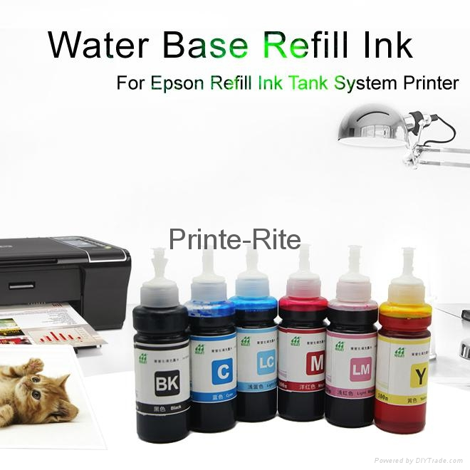 兼容爱普生佳能等桌面打印机连供墨盒填充墨水 1