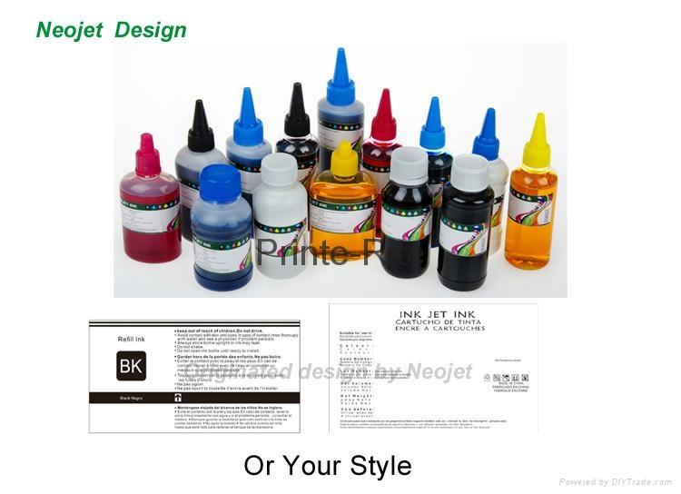 兼容愛普生佳能等桌面打印機連供墨盒填充墨水 2