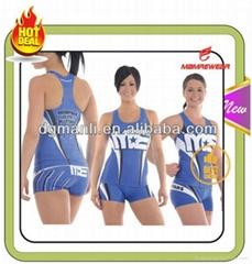 2014 custom sublimation team cheerleading uniform