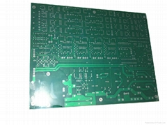 8 layer PCB with ENIG surface treatment and green solder mask