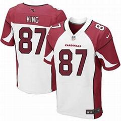 America Football jerseys 38#Ellington red color men's Elite Jerseys
