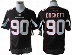 America Football jerseys 90#Dockett dark grey color men's Elite Jerseys