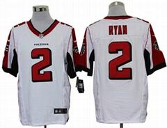 America Football jerseys 2#Ryan black color men's Elite Jerseys