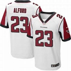 America Football jerseys 23#Alford black Elite Jerseys