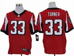 America Football jerseys  33#Turner red Elite Jerseys