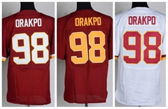 football jerseys Washington  98#Orakpo red Elite Jerseys
