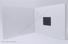 Blank A5 format 2.4 inch video greeting card