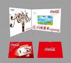 4.3 inch digital video book video greeting card