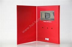7 inch video greeting card video brochure video book