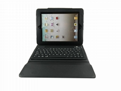 With Protective PU Tablet Bluetooth Keyboard Case for ipad 2
