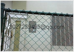 PVC coated chain link fence (diamond wire mesh)