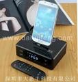 iphone&Android alarm clock bluetoothspeaker 5