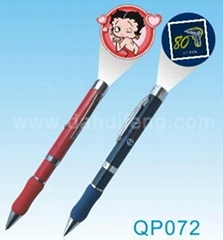 logo projector pen projection torch
